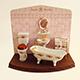 浪漫粉紅浴室